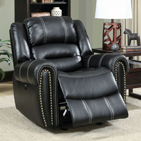 Furniture of America FOA-CM6130CH-PM Frederick Transitional Power-Assist Chair