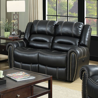 Furniture of America FOA-CM6130LV-PM Frederick Transitional Power-Assist Love Seat