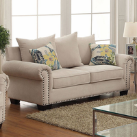 Furniture of America FOA-CM6155-LV Skyler Transitional Love Seat