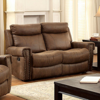 Furniture of America FOA-CM6264LV Geddes Transitional Love Seat