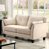 Furniture of America FOA-CM6716BG-LV-PK Ysabel Contemporary Love Seat, Beige