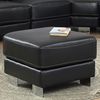 Furniture of America FOA-CM6719OT Garzon Contemporary Ottoman