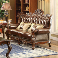 Furniture of America FOA-CM6786-LV-PK Jericho Traditional Love Seat