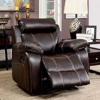 Furniture of America FOA-CM6788-CH Chancellor Transitional Recliner
