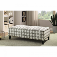 Furniture of America FOA-CM6835-OT Ottoman Brown
