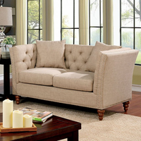 Furniture of America FOA-CM6860-LV Imani Contemporary Love Seat