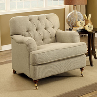 Furniture of America FOA-CM6863-CH Laney Traditional Chair