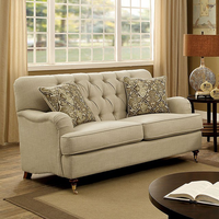 Furniture of America FOA-CM6863-LV Laney Traditional Love Seat