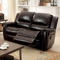 Furniture of America FOA-CM6909LV Foxboro Transitional Love Seat