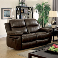 Furniture of America FOA-CM6992-LV Love Seat Brown
