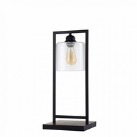 "Furniture of America FOA-L731201 6""H Table Lamp Black"