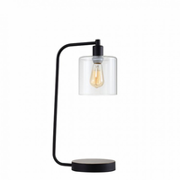 "Furniture of America FOA-L731205 6""H Table Lamp Black"