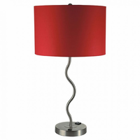 Furniture of America FOA-L76224T-RD-2PK Sprig Contemporary Table Lamp (2/ctn)