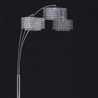 Furniture of America FOA-L76932 Tina Glam Arch Lamp