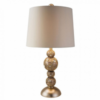 "Furniture of America FOA-L9269T 18.5""H Table Lamp Gold"