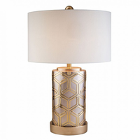 "Furniture of America FOA-L9274 29""H Table Lamp Gold"