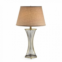 "Furniture of America FOA-L9501-2PK 30""H Table Lamp Gold"