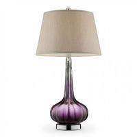 "Furniture of America FOA-L9709 30""H Table Lamp Purple"