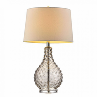 "Furniture of America FOA-L9710 27""H Table Lamp Translucent"