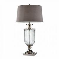 "Furniture of America FOA-L9711 32.5""H Table Lamp Translucent"