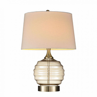 "Furniture of America FOA-L9712 22.5""H Table Lamp Translucent"