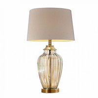 "Furniture of America FOA-L9713 28.5""H Table Lamp Translucent"