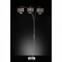 Furniture of America FOA-L99745C Lena Glam Arch Lamp