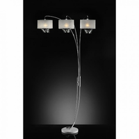 Furniture of America FOA-L99745SR Lauryn Glam Arch Lamp