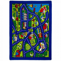 Furniture of America FOA-RG5113 Abbey Contemporary 5' X 8' Road Map Area Rug