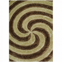 Furniture of America FOA-RG5160 Cyrus Contemporary 5' X 8' Champagne Area Rug