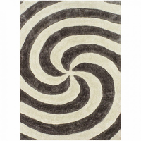Furniture of America FOA-RG5161 Cyrus Contemporary 5' X 8' Silver Area Rug