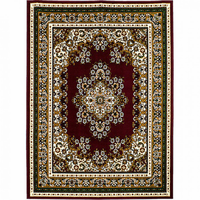 Furniture of America FOA-RG5168 Shinta Contemporary 5' X 8' Burgundy Area Rug