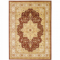 Furniture of America FOA-RG5171 Altay Contemporary 5' X 8' Chocolate Area Rug