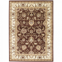 Furniture of America FOA-RG5173 Altay Contemporary 5' X 8' Chocolate Area Rug