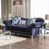 Furniture of America FOA-SM2234-LV Safiya Transitional Love Seat