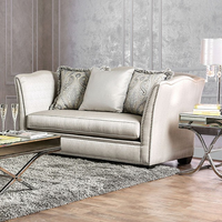 Furniture of America FOA-SM2288-LV Alessandra Transitional Love Seat
