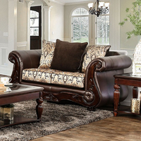 Furniture of America FOA-SM6406-LV Alessio Traditional Love Seat