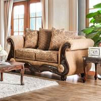 Furniture of America FOA-SM6407-LV Nicanor Traditional Love Seat