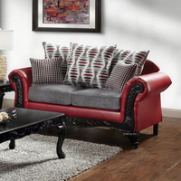 Furniture of America FOA-SM7501-LV Myron Traditional Love Seat