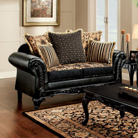 Furniture of America FOA-SM7505-LV Theodora Traditional Love Seat