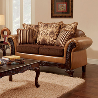 Furniture of America FOA-SM7506-LV Isabella Traditional Love Seat