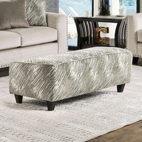 Furniture of America FOA-SM8220-OT Ottoman Light Mocha