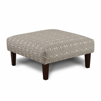Furniture of America FOA-SM8563-OT-EC Parker Contemporary Ottoman