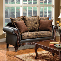 Furniture of America FOA-SM7630-LV Rotherham Traditional Love Seat