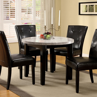 FURNITURE OF AMERICA MARION I DINING TABLE  + 4 CHAIRS