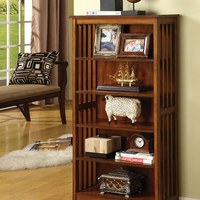 Furniture of America FOA-CM-AC249 Valencia I Cottage Media Shelf