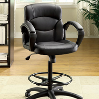 Furniture of America FOA-CM-FC610 Belleville Contemporary Ht. Adjustable Office Chair