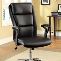 Furniture of America FOA-CM-FC609 Clairton Contemporary Ht. Adjustable Office Chair