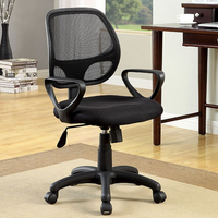 Furniture of America FOA-CM-FC606 Sherman Contemporary Ht. Adjustable Office Chair