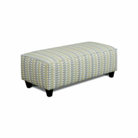 Furniture of America FOA-SM8140-OT-TL Brubeck Transitional Ottoman